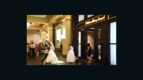 """<a href=""""http://www.mandalaybay.com/features-and-shopping/weddings/"""" target=""""_blank"""" target=""""_blank"""">THEwedding Chapel</a> at THE Hotel Mandalay Bay is consistently voted as one of the best wedding venues in Las Vegas. It's elegant, to be sure, but not without Las Vegas flair; a limo ride and photo session with an Elvis impersonator are available for $675."""