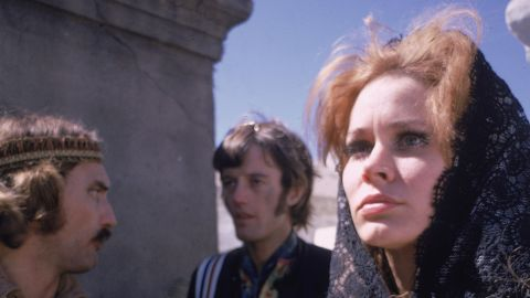 """Acting opposite Dennis Hopper and Peter Fonda in """"Easy Rider"""" brought Black attention in 1969."""