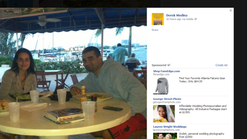 Hours before the slaying, Derek Medina posted a picture of himself with his family at a marina.