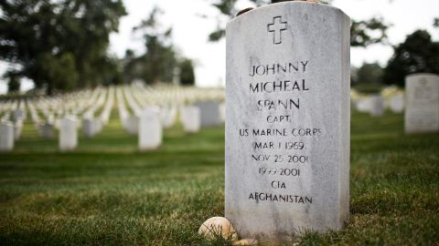 Johnny Micheal Spann was the first American killed in the Afghanistan war. EVELIO CONTRERAS/CNN