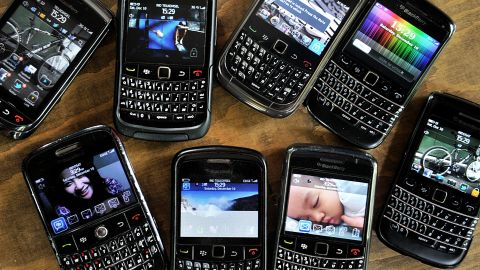 Not so long ago, BlackBerry dominated the North American smartphone market with devices that looked clunky but had physical keyboards geared to e-mailing on the go. Now the company is in deep trouble, outflanked by Apple and Android. Here's a look back at some of its key products.