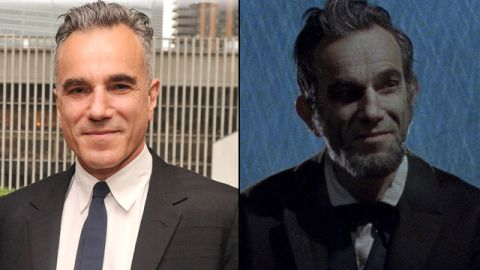 """Daniel Day-Lewis looked presidential enough to appear on currency in 2012's """"Lincoln."""" His performance as the 16th president earned Day-Lewis his third Oscar for best actor."""