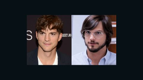 """Ashton Kutcher had the good fortune of looking like Steve Jobs' long-lost cousin, so transforming himself into the icon of innovation didn't take much for the """"Jobs"""" biopic. But it's amazing what the haircut, glasses and beard can do."""