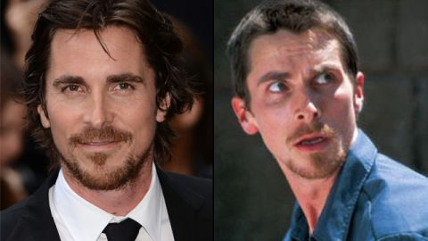 """Christian Bale's <a href=""""http://www.ew.com/ew/gallery/0,,20311937_20462701_20906773,00.html"""" target=""""_blank"""" target=""""_blank"""">disturbingly gaunt frame</a> in """"The Machinist"""" is a legendary tale of going all out for a character. The actor famously dropped 63 pounds for the part by sticking to a diet of coffee, cigarettes and an apple a day."""