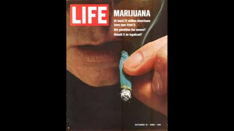 """Marijuana reform was the <a href=""""http://life.time.com/culture/war-on-drugs-1969-photos-from-u-s-customs-operation-intercept/#1"""" target=""""_blank"""" target=""""_blank"""">Life magazine cover story</a> in October 1969. The banner read: """"At least 12 million Americans have now tried it. Are penalties too severe? Should it be legalized?"""""""
