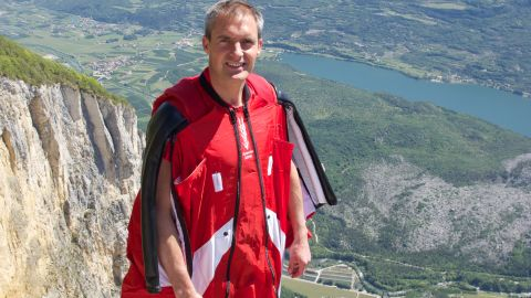 """British stuntman <a href=""""http://www.cnn.com/2013/08/15/world/europe/switzerland-stuntman-death/index.html?hpt=hp_t2"""" target=""""_blank"""">Mark Sutton</a> died on Wednesday, August 14, after a parachuting accident in Switzerland. Sutton, 42, was well known for parachuting in as James Bond at the 2012 London Olympics."""