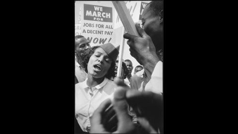 """Though the name March on Washington""""is well known, the full title of the gathering the March on Washington for Jobs and Freedom."""