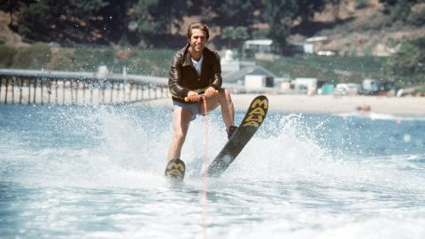 """Ever wondered where the phrase """"jumped the shark"""" came from? You can thank the """"Happy Days"""" writers for that one. In 1977, the beloved show took a plot turn it couldn't recover from when Henry Winkler's Fonzie literally """"jumped a shark"""" while water skiing."""