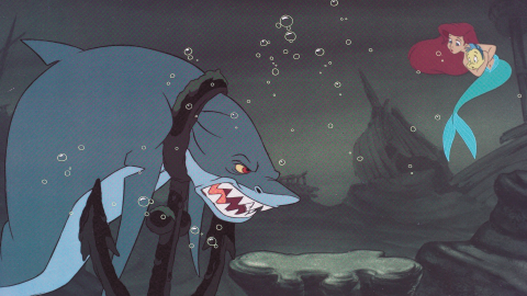 """Disney's 1989 under-the-sea adventure """"The Little Mermaid"""" began with a tense run-in with a shark. Unlike the chilling but affable characters Disney has produced lately, this shark was straight out of """"Jaws"""" with its brutish strength and snapping teeth."""