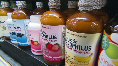 """Probiotic use was four times as high in 2012 as it was in 2002, according to the NIH. Probiotics found in yogurt are """"good"""" bacteria that can prevent stomach problems, according to some studies."""