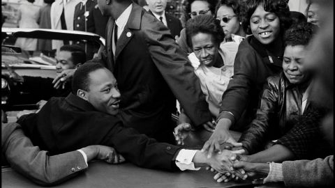 Leonard Freed is best known for his image of Martin Luther King Jr. after King won the Nobel Peace Prize in 1964.