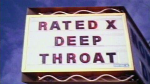 "Released in 1972, ""Deep Throat"" was a pioneering porn film."
