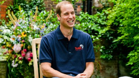 Prince William gave his first official interview since the birth of his son, Prince George Alexander Louis, to CNN's Max Foster at Kensington Palace in London.