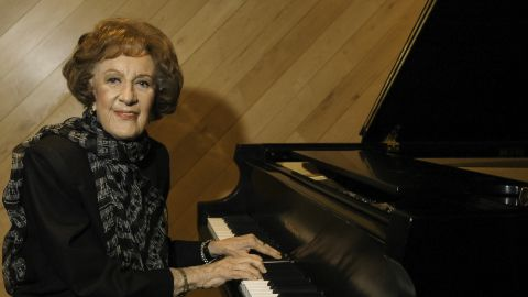 """<a href=""""http://www.cnn.com/2013/08/21/showbiz/music/obit-marian-mcpartland/index.html"""" target=""""_blank"""">Marian McPartland</a>, the famed jazz pianist and longtime host of NPR's """"Piano Jazz"""" program, died Tuesday, August 20, of natural causes, according to her label. She was 95."""