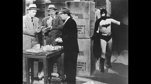 """Robert Lowery became the second person to portray the character in the 1949 movie serial """"Batman and Robin."""" Although he never played the character in another movie, he did guest star on an episode of """"The Adventures of Superman."""" This was the first time a Batman actor and a Superman actor shared the screen."""