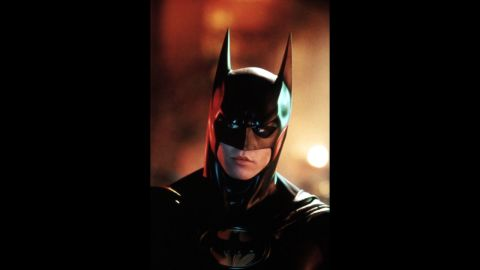 """When the franchise changed directors, it also changed actors. Val Kilmer became one of the more forgettable Batmen in 1995's """"Batman Forever."""" Director <a href=""""http://www.ew.com/ew/article/0,,20610393_292752,00.html"""" target=""""_blank"""" target=""""_blank"""">Joel Schumacher called Kilmer</a> """"childish and impossible"""" to work with. He was destined to be a one-term superhero and left the Batcave for good rather than filming """"Batman & Robin."""""""