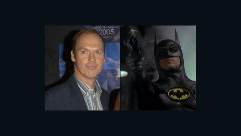 Michael Keaton portrayed Batman in the 1989 film 'Batman' and the sequel, 'Batman Returns' in 1992