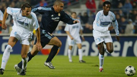 Prolific Brazil striker Ronaldo was brought in from Inter Milan. He went on to score 83 goals in 127 games for Real.
