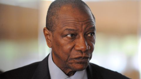 Alpha Conde is 77 years old and has been President of Guinea since December 2010, after many years spent in opposition.  He survived an assassination attempt in 2011.