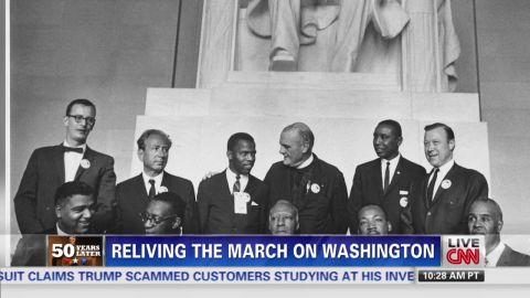 exp rep john lewis civil rights activist 50th anniversary martin luther king speech suzanne malveaux_00002001.jpg