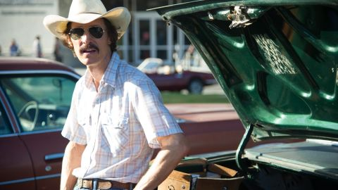 """<strong>Best actor in a motion picture, drama: </strong>Matthew McConaughey, """"Dallas Buyers Club"""""""