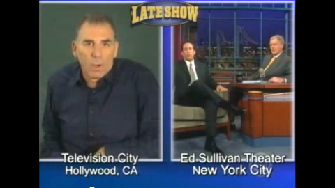 """When you need to make a massive apology, it makes sense to turn to the well-respected Letterman to help you out. That's what """"Seinfeld's"""" Michael Richards ended up doing in November 2006, with help from Letterman's guest of the night, Jerry Seinfeld. Richards, however, wasn't in the studio -- he made his apology via satellite after coming under fire for using the N-word during a tirade at a comedy club. """"Awkward"""" doesn't begin to describe the appearance."""