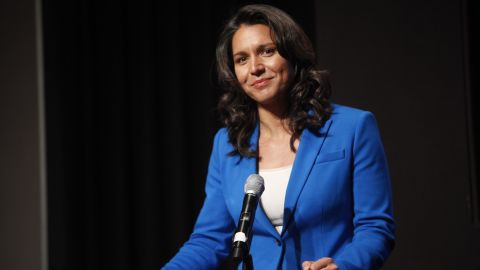 A man is being held in San Diego for threatening to decapitate Rep. Tulsi Gabbard of Hawai.