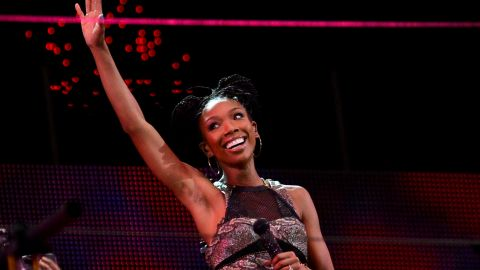 """In August 2013, Brandy was all set to perform in front of a stadium of 90,000 in Johannesburg, South Africa. The only problem was her gig to close the tribute to Nelson Mandela's life had been kept a secret. So when the singer showed up on stage, most of the crowd had left. Rather than do a full show in front of the <a href=""""http://www.etonline.com/music/137564_Brandy_Performs_To_Empty_Stadium_Walks_Off_Stage/index.html"""" target=""""_blank"""" target=""""_blank"""">40 people who were there</a>, she reportedly """"sulked"""" after two songs and walked off."""