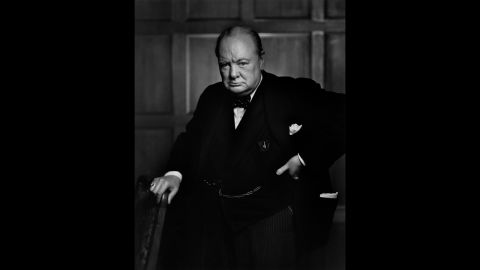 """Yousuf Karsh's 1941 portrait of a scowling Winston Churchill -- reportedly reacting to Karsh snatching Churchill's cigar -- graced the cover of Life magazine and cemented the British prime minister's reputation as a """"roaring lion."""" """"By the time I got back to my camera, he looked so belligerent he could have devoured me,"""" Karsh recalled. """"It was at that instant that I took the photograph."""" <a href=""""http://money.cnn.com/2013/04/26/news/economy/churchill-five-pounds/index.html"""">The Bank of England announced</a> in 2013 that the famous portrait would be featured on the £5 note."""