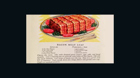 Bacon Meatloaf: Slices of Real Flavor, Armour and Company (1925)