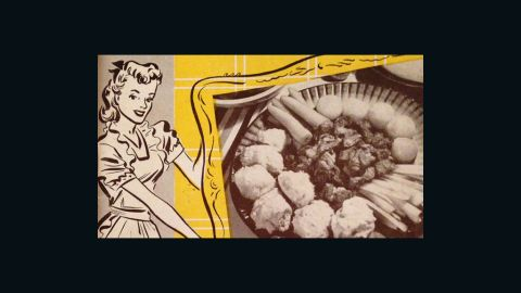 The Homemaker's Meat Recipe Book (1949) -- pamphlet published by the National Live Stock and Meat Board, Home Economics Department.