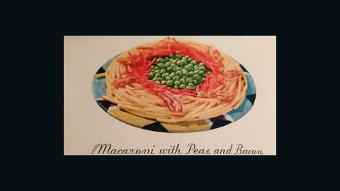 Macaroni with Peas and Bacon: Tested and Proven Recipes (1933)