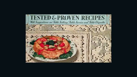Tested and Proven Recipes With Suggestions on Table Setting, Table Service and Table Etiquette (1933) -- published by Mueller's
