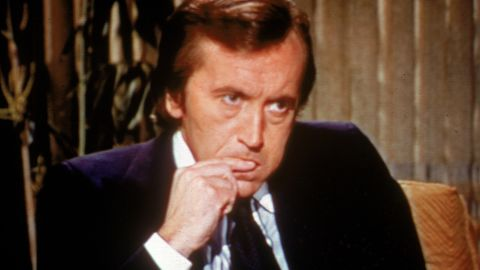 """British broadcaster <a href=""""http://www.cnn.com/2013/09/01/showbiz/david-frost-death/index.html"""" target=""""_blank"""">David Frost</a>, best known for his series of interviews with former U.S. President Richard Nixon in 1977, died August 31. He was 74."""