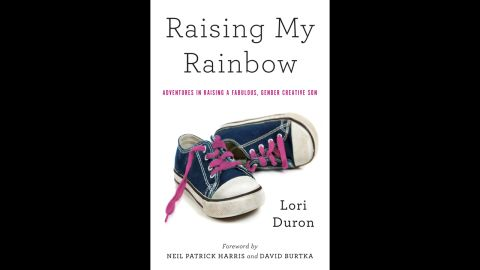 """Author Lori Duron's new memoir, """"Raising My Rainbow: Adventures in Raising a Fabulous, Gender Creative Son,"""" tells the story of her youngest son, C.J., """"a boy who likes girl stuff,"""" from clothes to toys."""