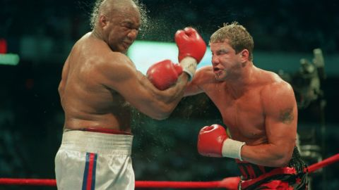 """Ex-heavyweight champion <a href=""""http://www.cnn.com/2013/09/02/showbiz/boxer-rocky-v-dead/index.html"""">Tommy Morrison</a> died September 1, according to his former promoter Tony Holden. He was 44. Morrison defeated George Foreman in 1993 for the World Boxing Organization's heavyweight title. He also won fame for his role in """"Rocky V."""""""