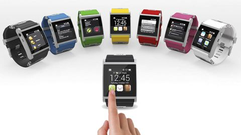 """The Italian-made aluminum """"I'm Watch,"""" announced at the 2013 <a href=""""http://cnn.com/SPECIALS/tech/ces-2013/index.html"""">Consumer Electronics Show</a>, sells for $249. It comes in seven colors and runs the Droid 2 operating system. It connects to Android smartphones using Bluetooth."""