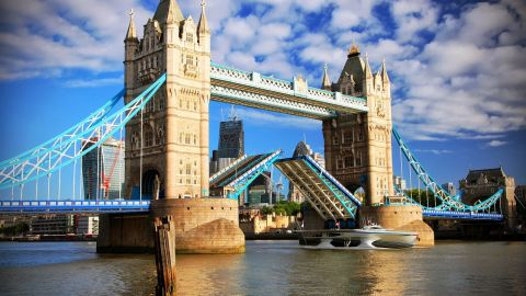 London's Tower Bridge greets 600,000 visitors a year. This year marks the 120th birthday of the bridge, which opened June 30, 1894. The eastern glass walkway will open December 1.