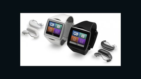 """Qualcomm's Toq features the company's """"mirasol"""" screen, which resembles an e-reader's and is meant to be easier on the eyes. It will sell for around $300."""
