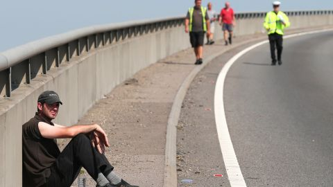 The huge chain-reaction crash took place, reportedly amid thick fog, on the bridge and highway that connect the Isle of Sheppey with mainland Kent.