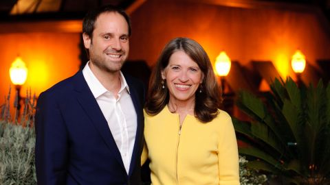Jeff Skoll and Sally Osberg