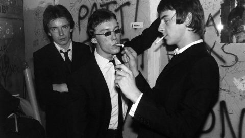 """From the mod side of the spectrum came the Jam, the Paul Weller-led trio whose blasts of anger (""""The Modern World,"""" """"In the City"""") became more reflective and soul-infused over time."""