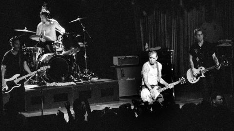 """Social D, as they're known, had a slower rise than other punk bands. The group had some minor success after forming in 1978, but didn't get wider notice until the late '80s, after signing a major-label deal and changing their style to what became known as """"cowpunk."""" The group had a national hit, """"Ball and Chain,"""" in 1990."""
