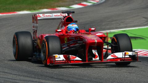 Spanish driver Fernando Alonso is hoping to give Ferrari victory at the team's home Italian Grand Prix.