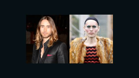 """<a href=""""http://www.thewrap.com/jared-leto-on-how-he-lost-40-lbs-for-aids-role-i-stopped-eating/"""" target=""""_blank"""" target=""""_blank"""">Jared Leto </a>said he shed nearly 40 pounds to play a transsexual woman living with AIDS in """"Dallas Buyers Club."""""""