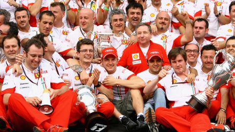 Raikkonen celebrated his title with Ferrari but two years later the Italian team chose to stick with 2008 runner-up Felipe Massa as it juggled its lineup. The team ended the Finn's contract in order to bring in Alonso, a double world champion with Renault, for 2010.