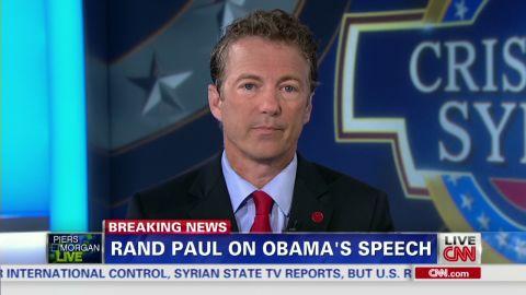 pmt sot rand paul obama speech reaction_00002612.jpg