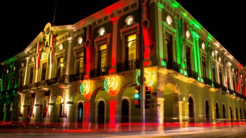 """""""I thought the building looked really beautiful,"""" said Stephanie Walsh, from Ireland, who captured this colorful display of <a href=""""http://ireport.cnn.com/docs/DOC-1029328"""" target=""""_blank"""">Mexican national pride</a> in the city of Valladolid a few days before the Independence Day in 2012. On the actual day she traveled to the city of San Cristobal de las Casas, in the Mexican central highlands. """"It was incredible! The atmosphere was amazing and the entire city seemed to show up for the celebrations, with flags, painted faces and a few shots of tequila already consumed. It was one of the best Independence Day celebrations I have ever been at,"""" she said."""