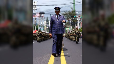 """Ever since he was a child, Hector Aguilar has attended the annual military parades put on for <a href=""""http://ireport.cnn.com/docs/DOC-1027938"""" target=""""_blank"""">Independence Day in El Salvador.</a>  """"I love to watch the march, vehicles, helicopters and planes and of course the equestrian show. I always bring my camera to catch some images,"""" said the 30-year-old graphic designer from San Salvador. He took this photo on September 15, 2011."""