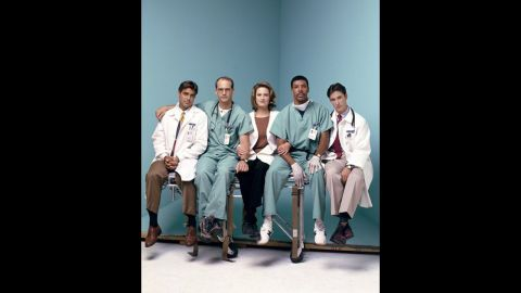 """""""ER"""" was must-see TV for many, and while George Clooney, left, is now an actor and director extraordinaire, we loved him as the womanizing Dr. Doug Ross on that series."""